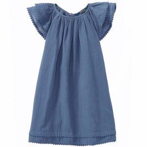 POLO Ralph Lauren Girls' Flutter Sleeve Dress
